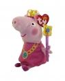 Maskotka Beanie Babies: Świnka Peppa - Księżniczka Peppa 15 cm (46129)