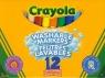 Flamastry Crayola spieralne 12 sztuk (8329)