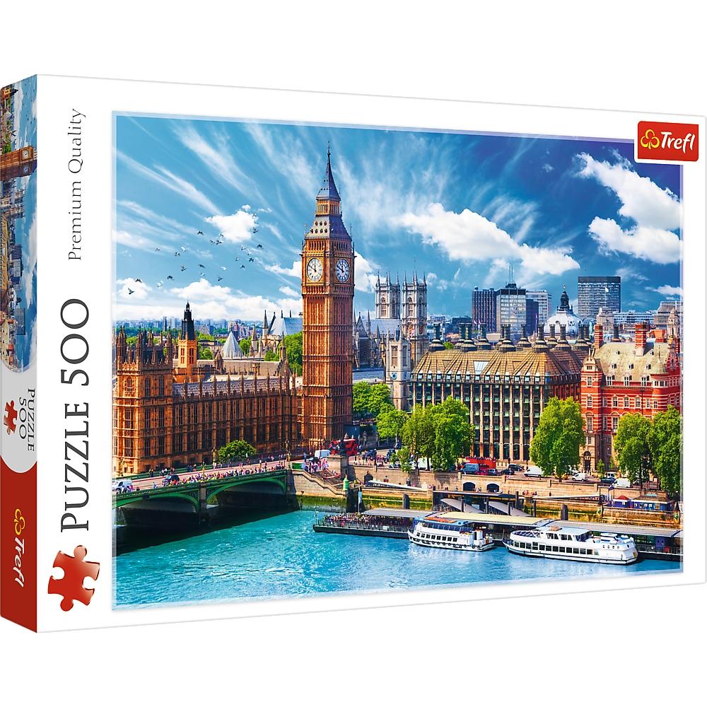 Puzzle 500: Słoneczny Londyn (37329)