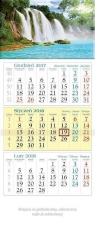 Kalendarz trójdzielny 2018 - Kaskada KT9