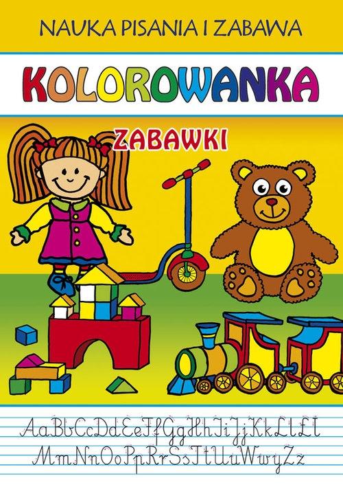 Kolorowanka Zabawki Guzowska Beata, Kubera Joanna