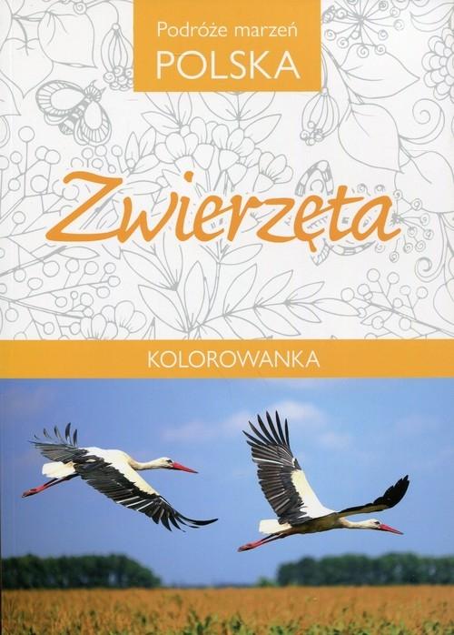 Podróże marzeń Polska Zwierzęta Kolorowanka