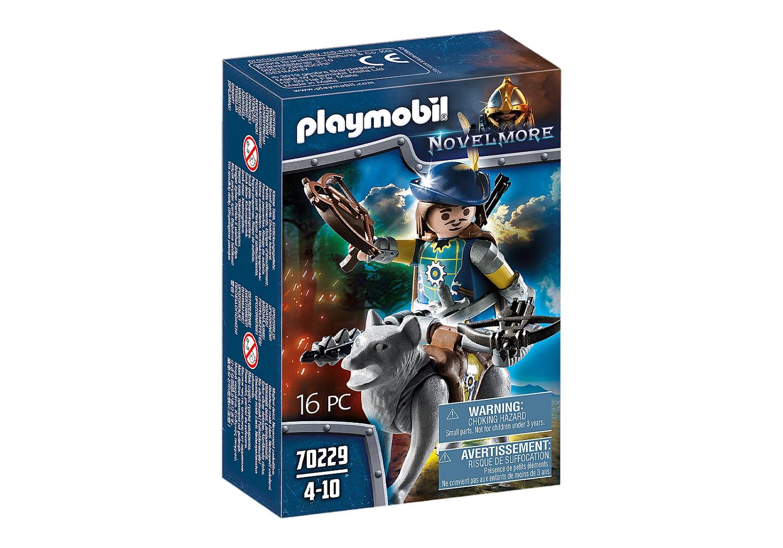Playmobil Novelmore: Kusznik z Novelmore z wilkiem (70229)