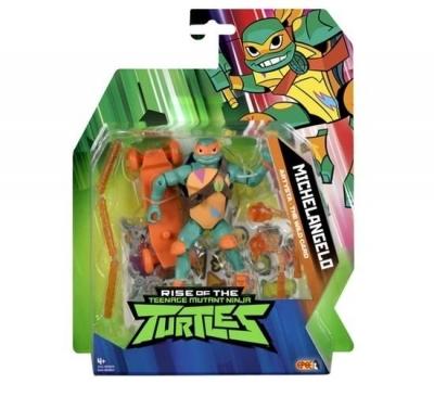 Wojownicze Żółwie Ninja: Figurka podstawowa z akcesoriami - Michelangelo (80800/80803)