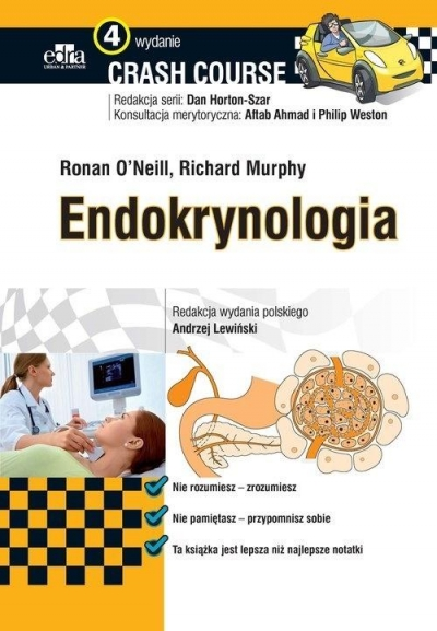 Endokrynologia Crash Course Ronan O'Neill, Richard Murphy
