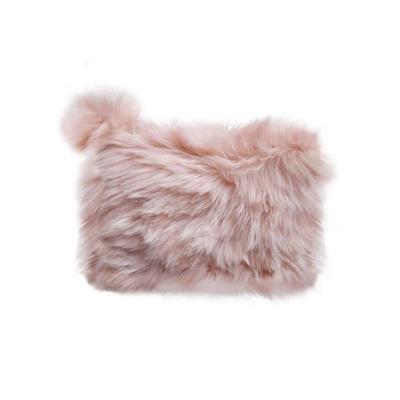 Piórnik różowy pluszowy (0033-0205)