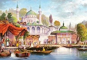 Puzzle 3000 Dzielnica Stambułu w Turcji CASTOR (300297)