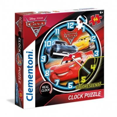 Puzzle zegar Auta 96