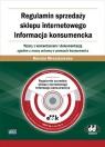Regulamin sprzedaży sklepu internetowego Informacja konsumencka