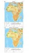 Mapa - AFRYKA Ogólnogeograficzna NE