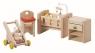 Zestaw mebelków dla niemowlaka do domu dla lalek (PLTO-7329)