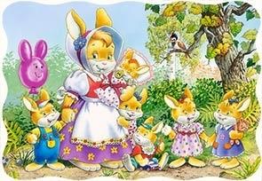 Puzzle 30 Rabbit Family (03297) .