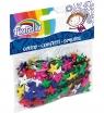 Confetti cekiny Fiorello, gwiazdki - kolorowe