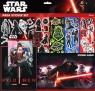 Duży zestaw naklejek z albumem. Star Wars 7