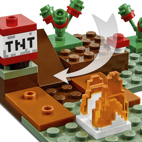 Lego Minecraft: Przygoda w tajdze (21162)