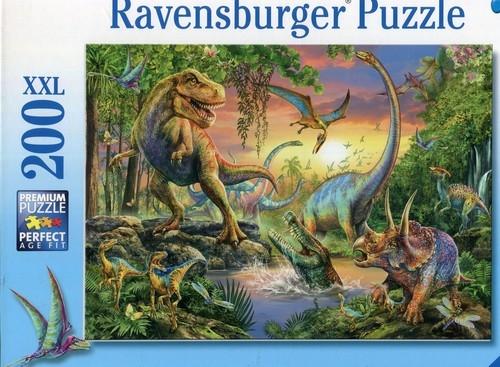 Puzzle XXL 200 Świat dinozaurów (128297)