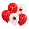 Balony biedronki op=5szt. /0172/