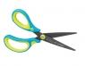 Nożyczki Griffix ergonomiczne szpiczaste blue L