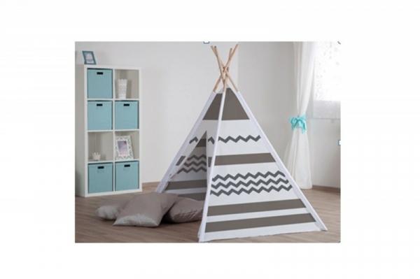 Namiot drewniany Tipi beżowy (130077102)