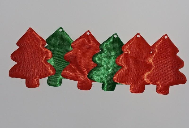 Dekoracje materiałowe choinka (361963)