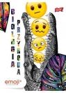 Zeszyt A5/60K kratka Biol/Przyr Emoji (10szt)