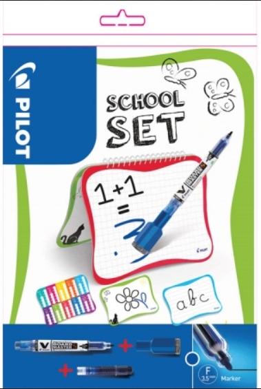 Zestaw szkolny - tablica + dwa markery