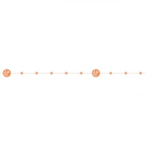 Sznurek Perełek 20m - Pomarańczowy (373244)