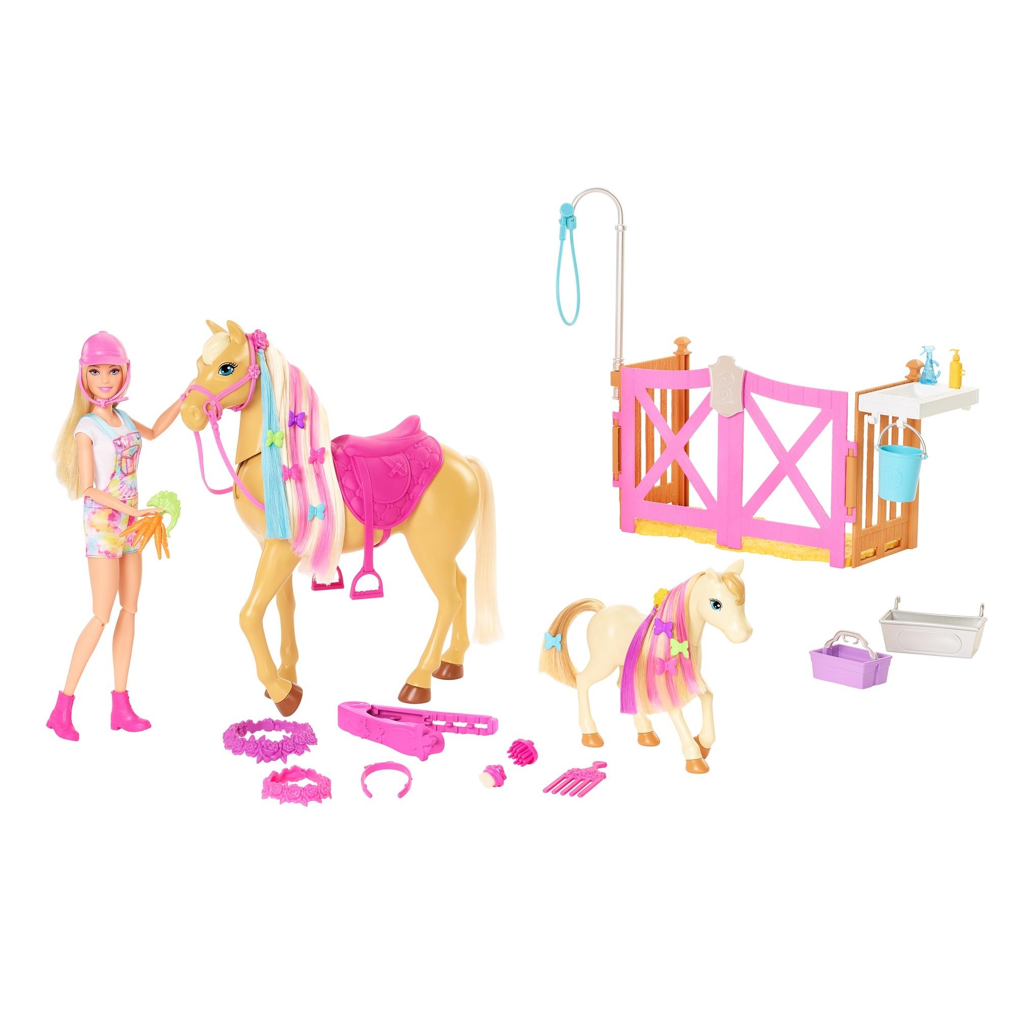 Barbie: Koniki - Stylizacja i opieka (GXV77)
