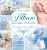 Album pamiątka maluszka z tradycyjnymi rymowankami niebieski