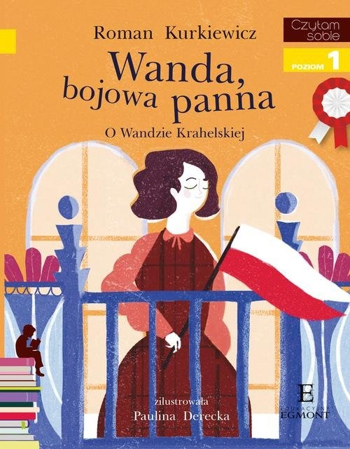 Czytam sobie Wanda bojowa panna Kurkiewicz Roman