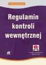 Regulamin kontroli wewnętrznej (z suplementem elektronicznym) Majsterkiewicz Irena