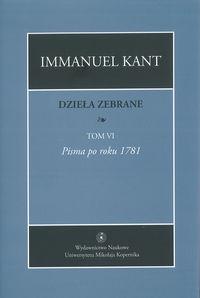 Dzieła zebrane Tom 6 Kant Immanuel