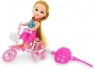 Lalka hobbystka na rowerze NATALIA