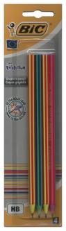 Ołówek Evolution 646 bez gumki Blister 4 sztuki