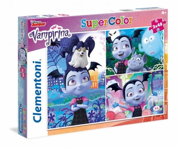 Puzzle SuperColor 3x48 Vampirina (25229)