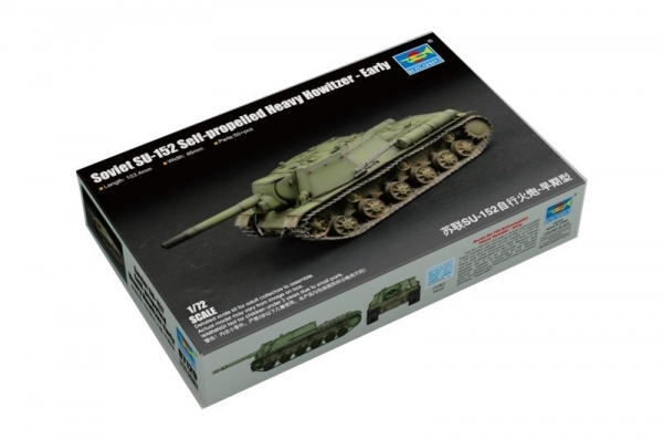 Model plastikowy SU-152 Samobieżna ciężka haubica (07129)