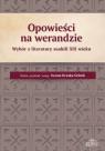 Opowieści na werandzieWybór z literatury suahili XIX wieku Kraska-Szlenk Iwona