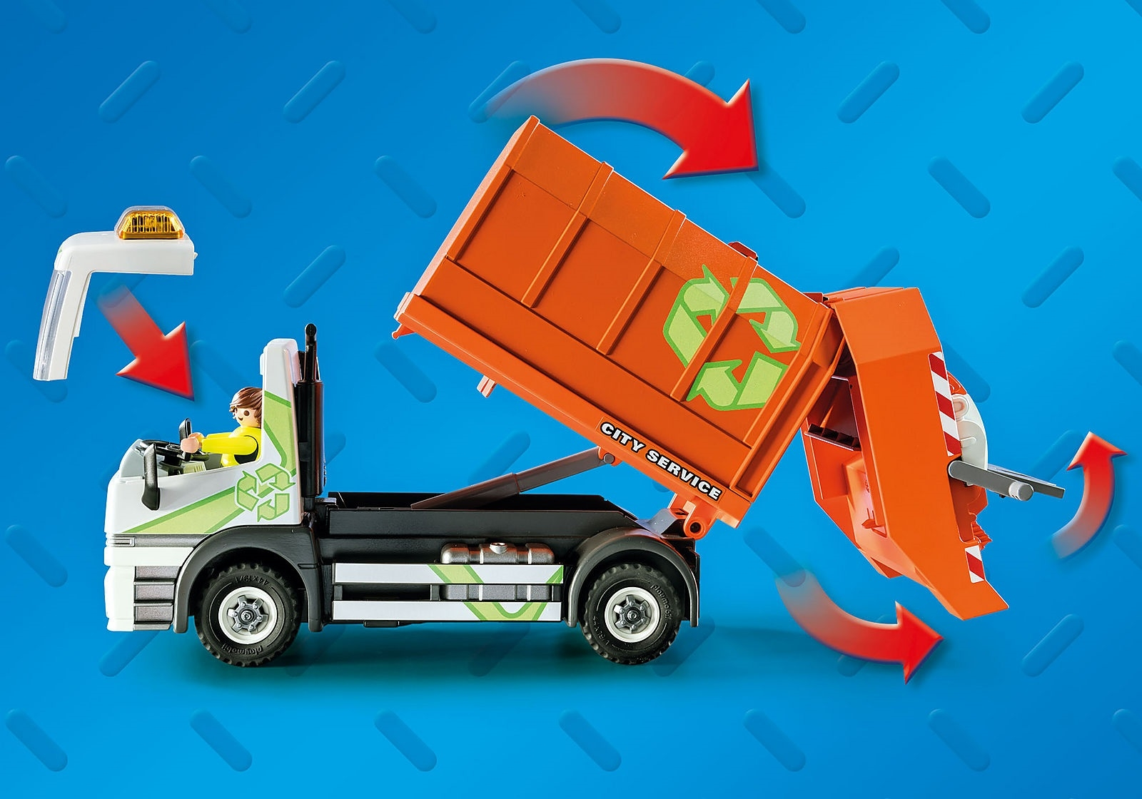 Playmobil City Life: Śmieciarka (70200)