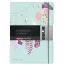 Notatnik PP my.book Flex A4/2x40k linia, kratka - Pióra (50016310)