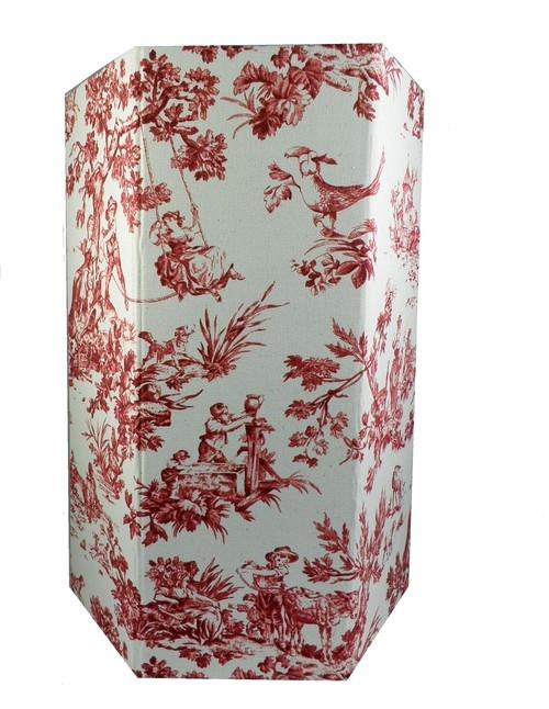 Kosz na papier Leuchtturm1917 Seasons czerwony pejzaż