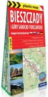Bieszczady i Góry Sanocko-Turczańskie foliowana mapa turystyczna 1:65 000