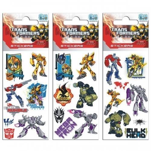 Naklejki Sticker BOO silver Transformers