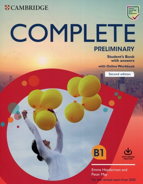 Complete Preliminary Student's Book with Answers with Online Workbook May Peter, Heyderman Emma