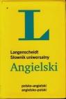 Langenscheidt Słownik uniwersalny angielski polsko-angielski
