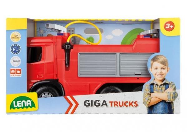 Pojazd Straż Pożarna w odkrytym pudełku 65 cm (02158)