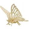Puzzle drewniane 3D Motyl