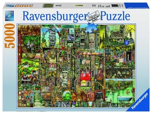 Puzzle 5000: Dziwaczne miasto (174300)