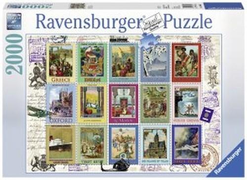 Puzzle Wakacyjne znaczki 2000