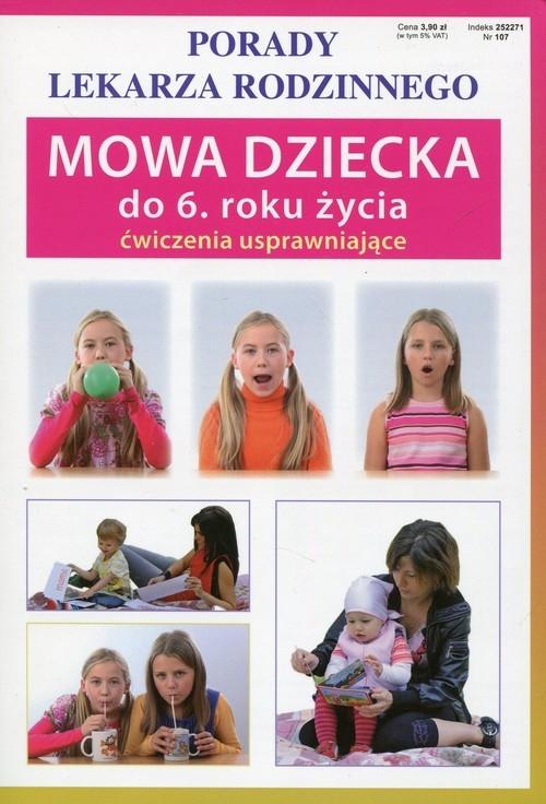 Mowa dziecka do 6 roku życia ćwiczenia usprawniające Szczepańska Sylwia