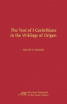 The Text of 1 Corinthians in the Writings of Origen